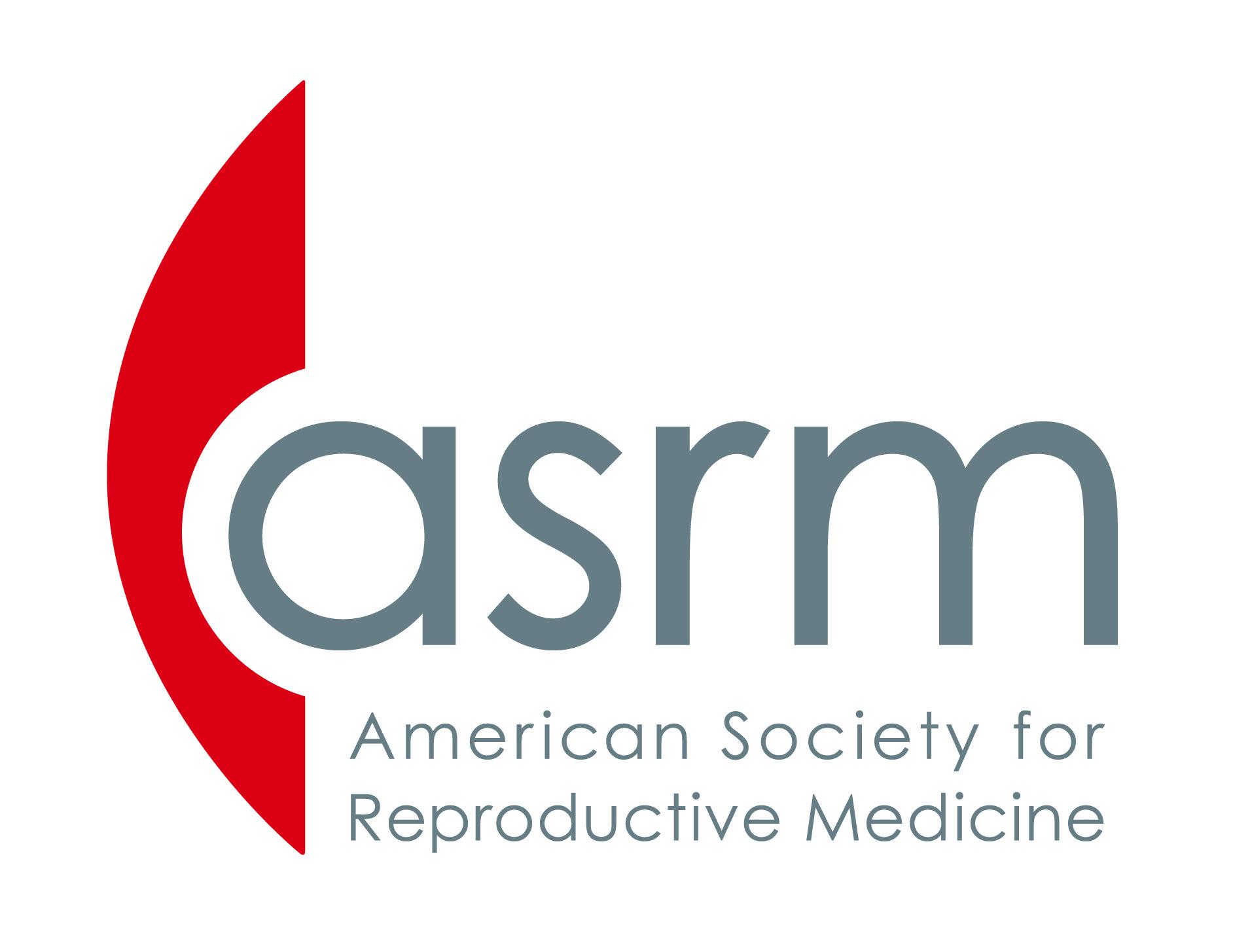 ASRM Logo: American Society for Reproductive Medicine